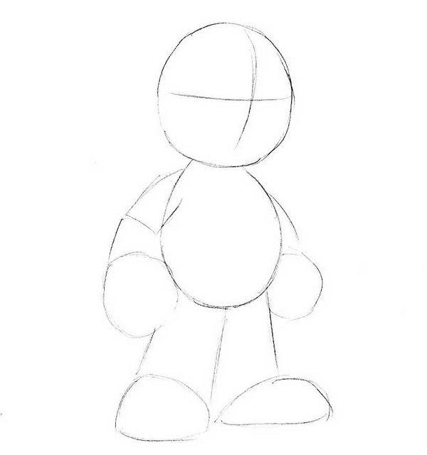 mario draw pencil steps art