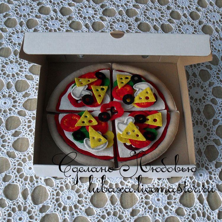 felt development pizza