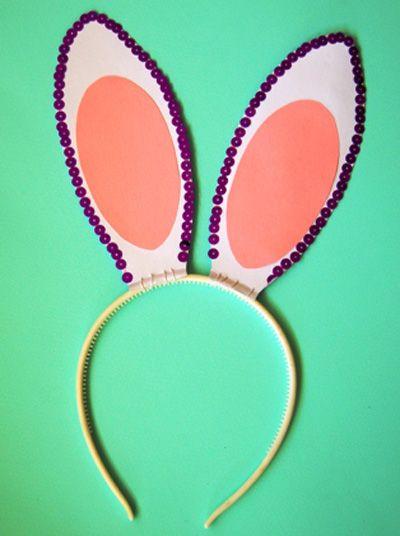 make ears rabbit children bunny