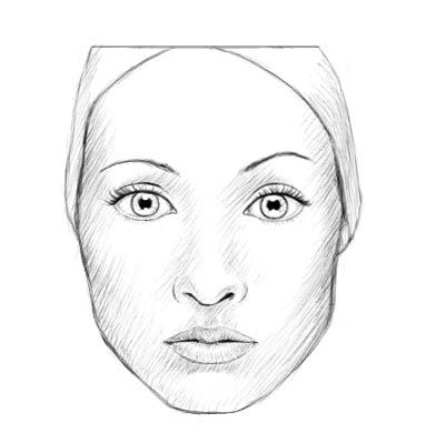 stepbystep face draw pencil art