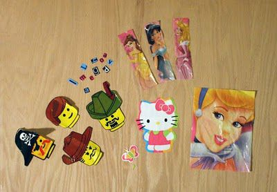 package cut lesson make stickers
