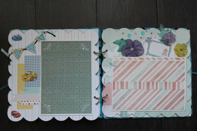 gift present album photobook newborn handmade