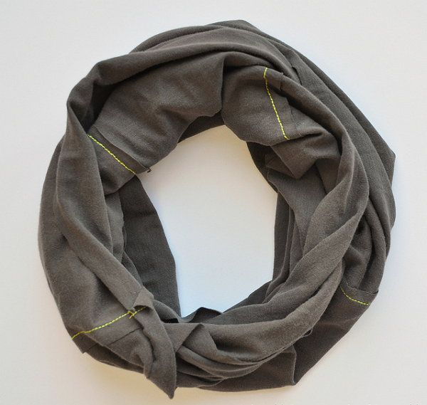 scarf infinity make clothing fabric