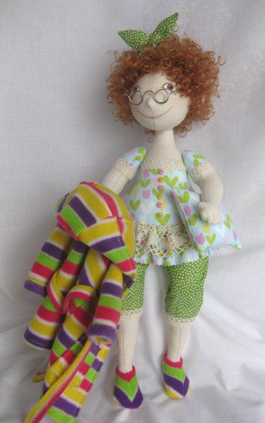 cozy doll gift cute lovely fatty handmade