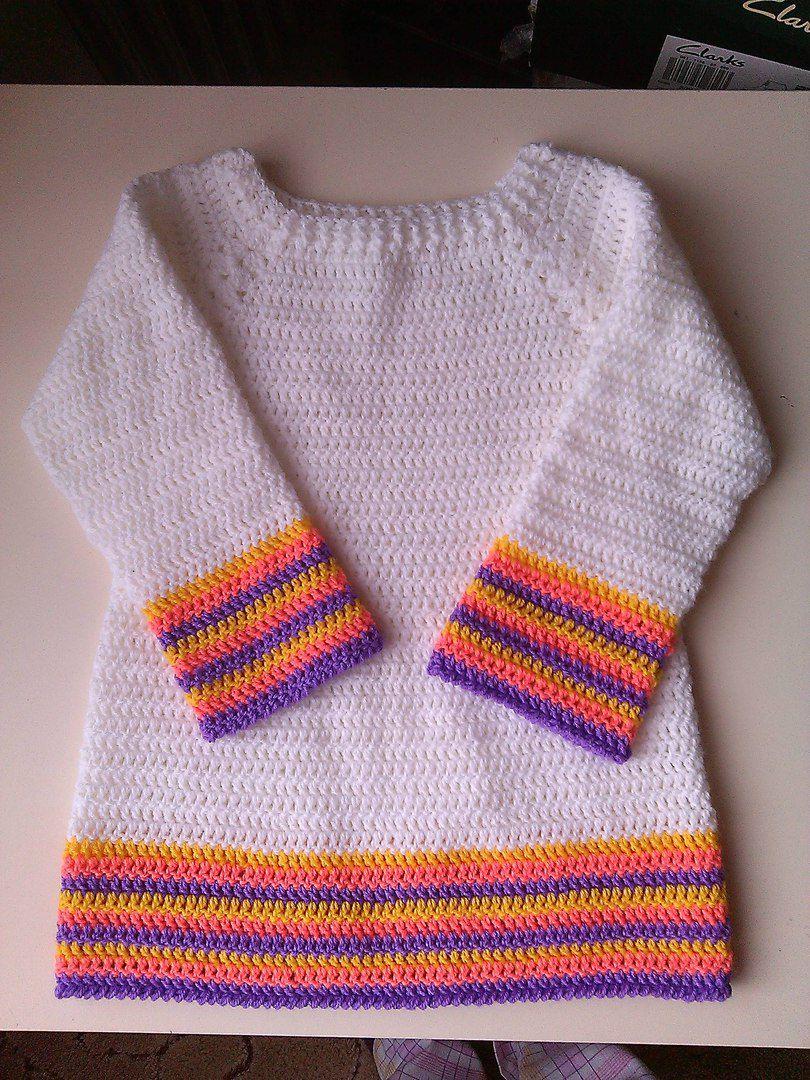 dress knitted girls kids