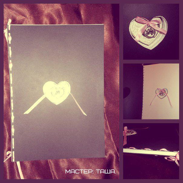 gift album paper wedding photo