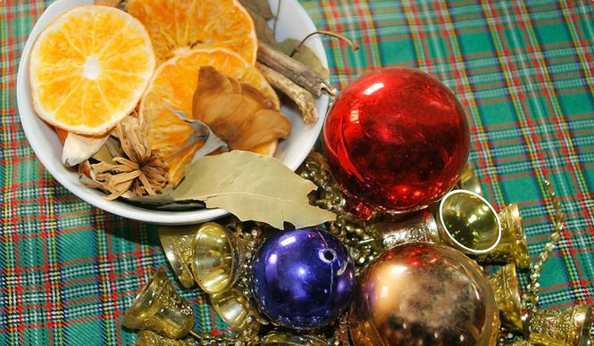decoration holidays lesson potpourri make