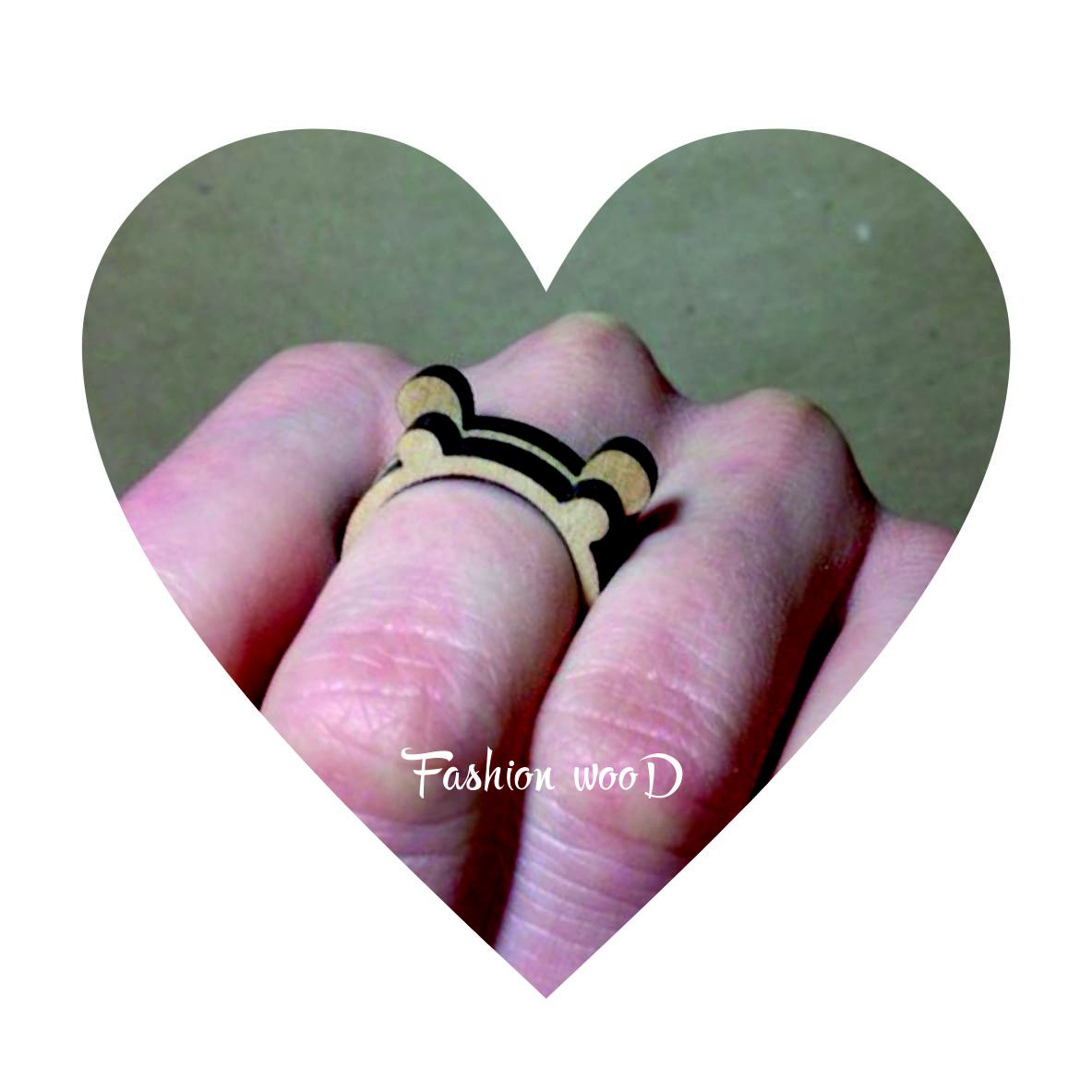 fashionwood wooden ring girt