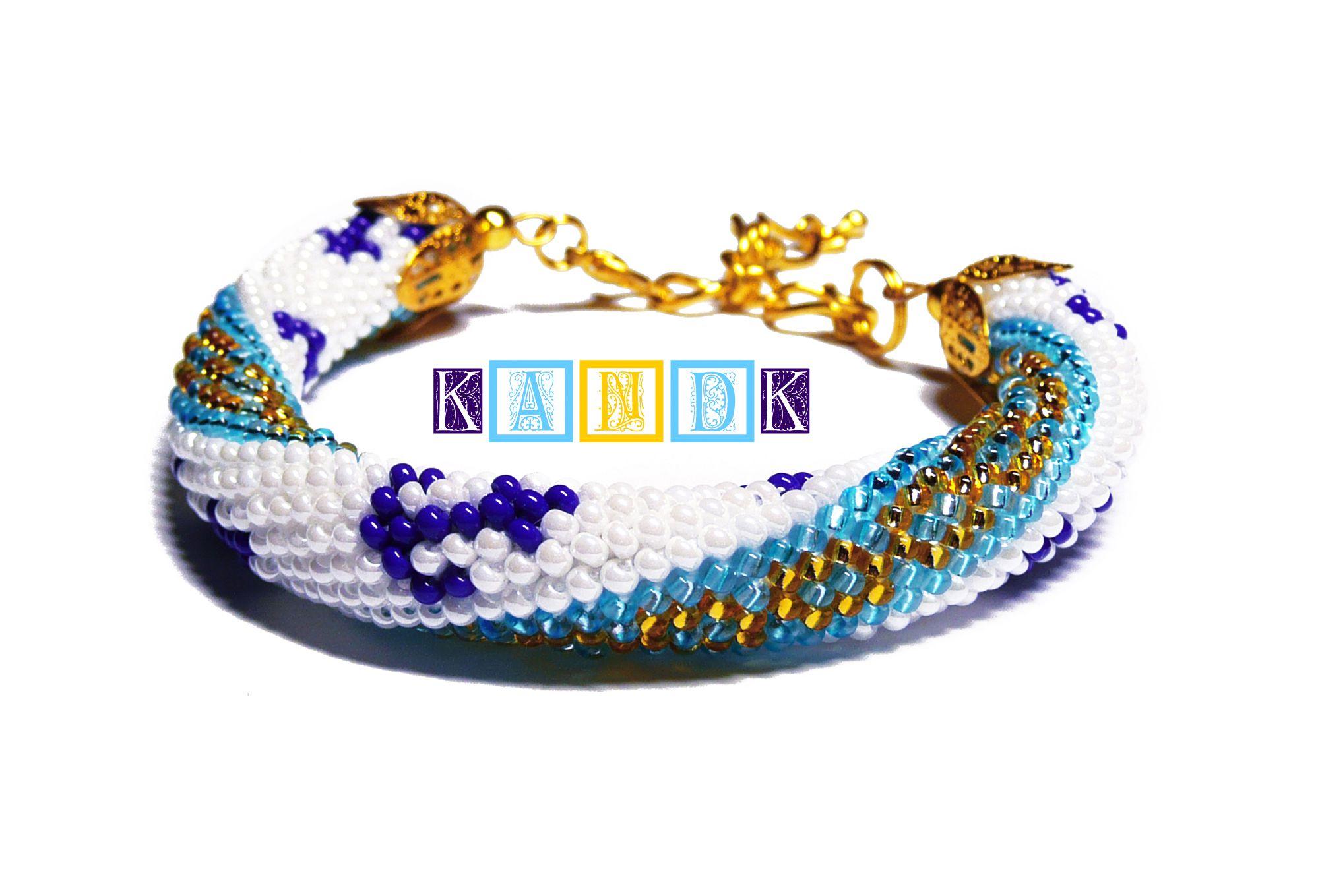 beads sea bracelet anchor