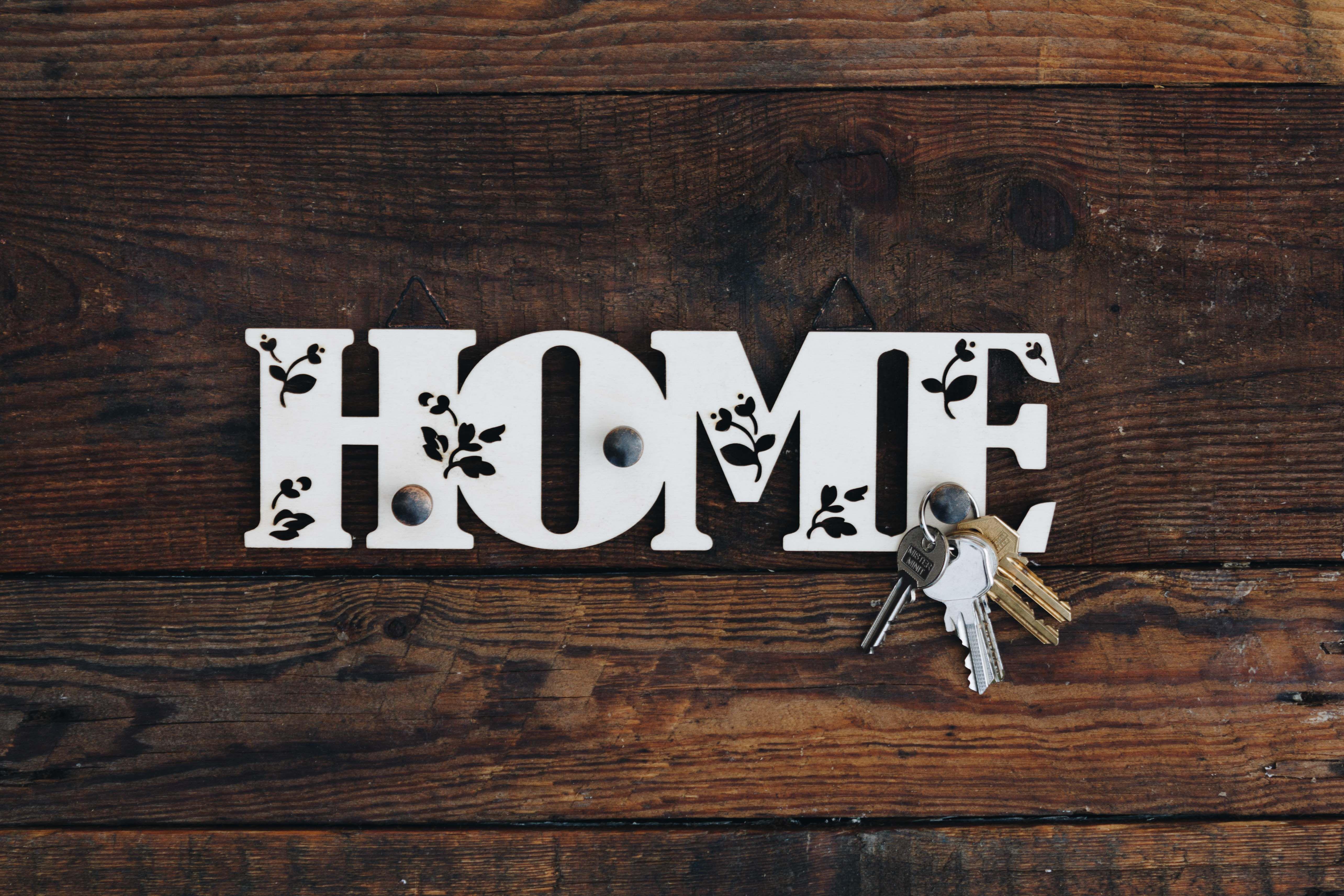 woode key_holder decoration keys home_decor home wood