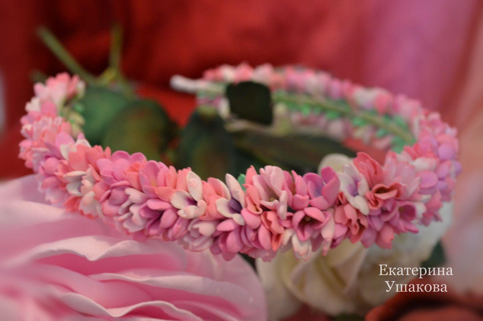 headband women flowers handmade