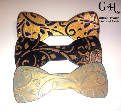 handmade gift wood christmas newyear neck bowtie accessorie batman