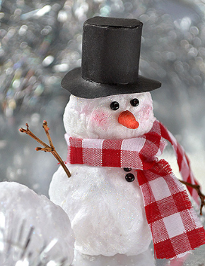 instruction cottony make holidays snowman