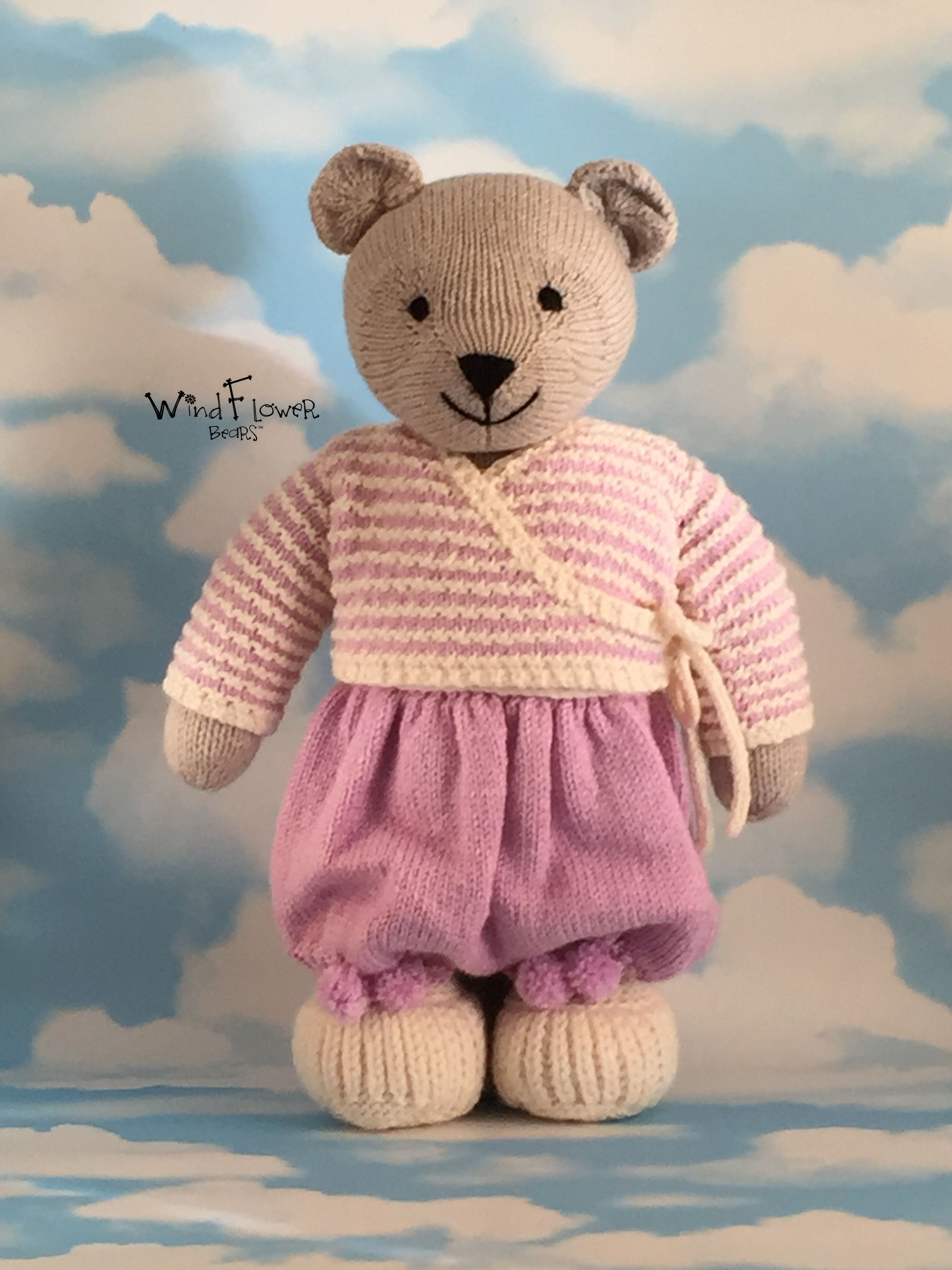 baby gift bear handmade