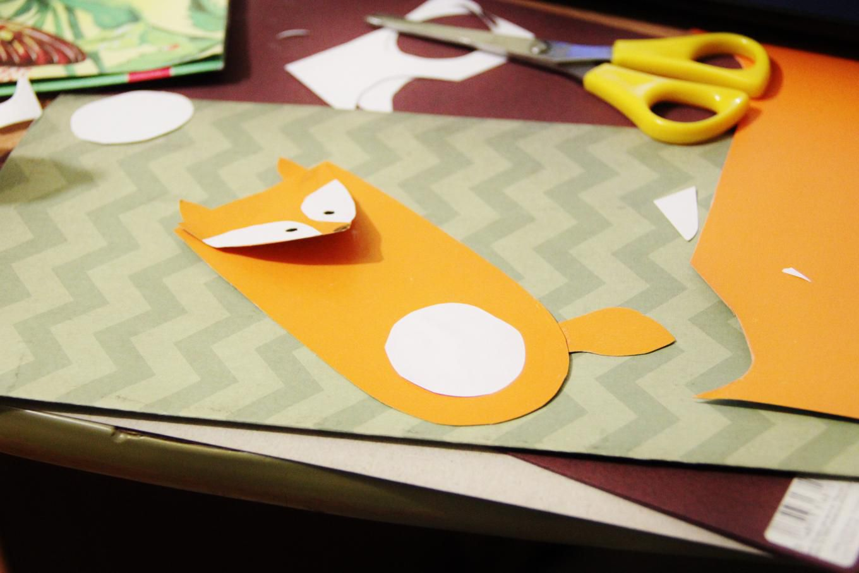 handmade home diy fox handicraft cute forchildren ideaforhome forkids abbiglikids bookmark playwithkids