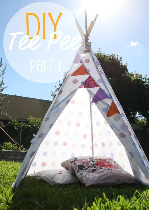 teepee indian canopy cloth house