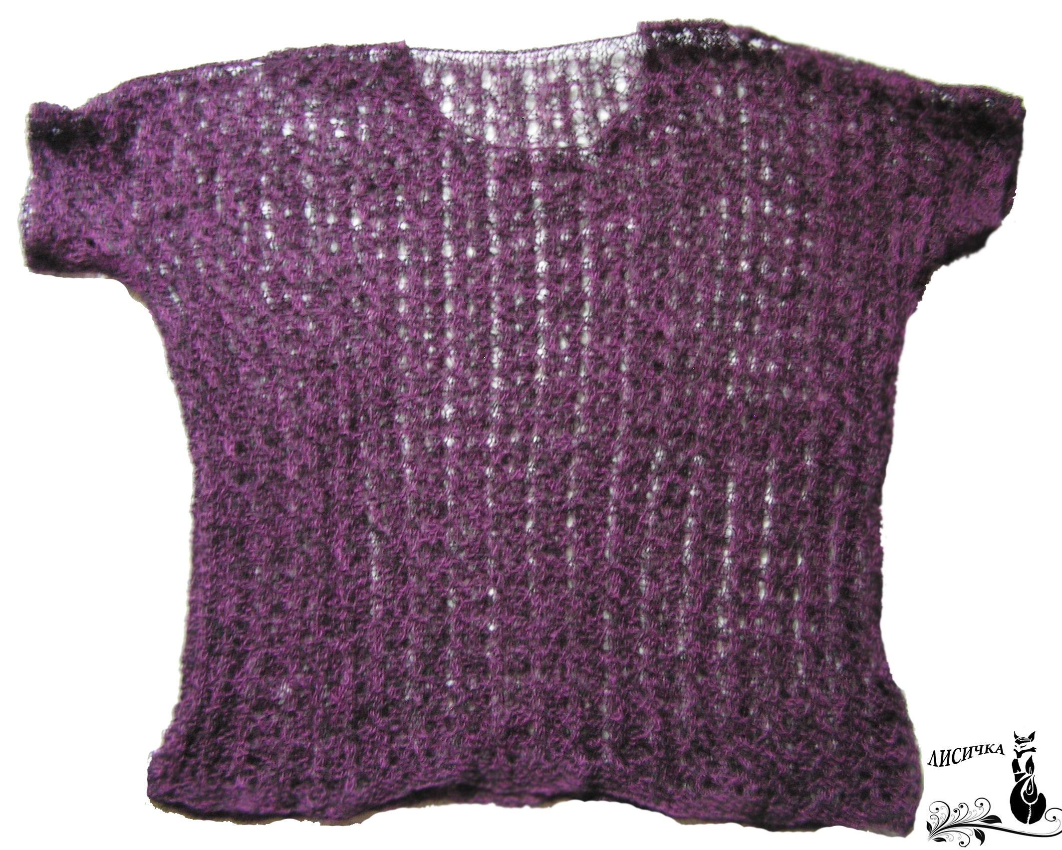 clothes violet winter mantel knitting