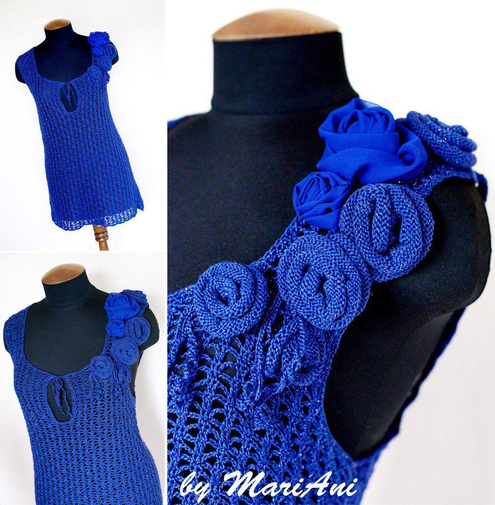 knitted tunic handmade