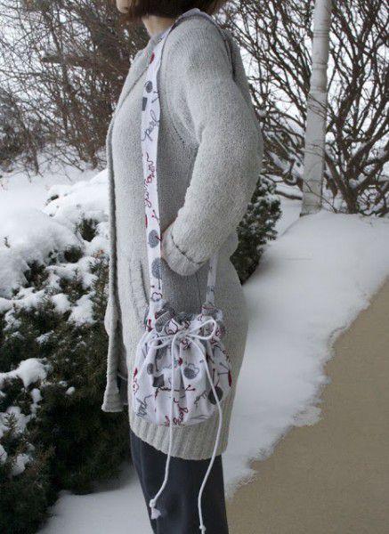 bag accessories fashionable drawstring material make