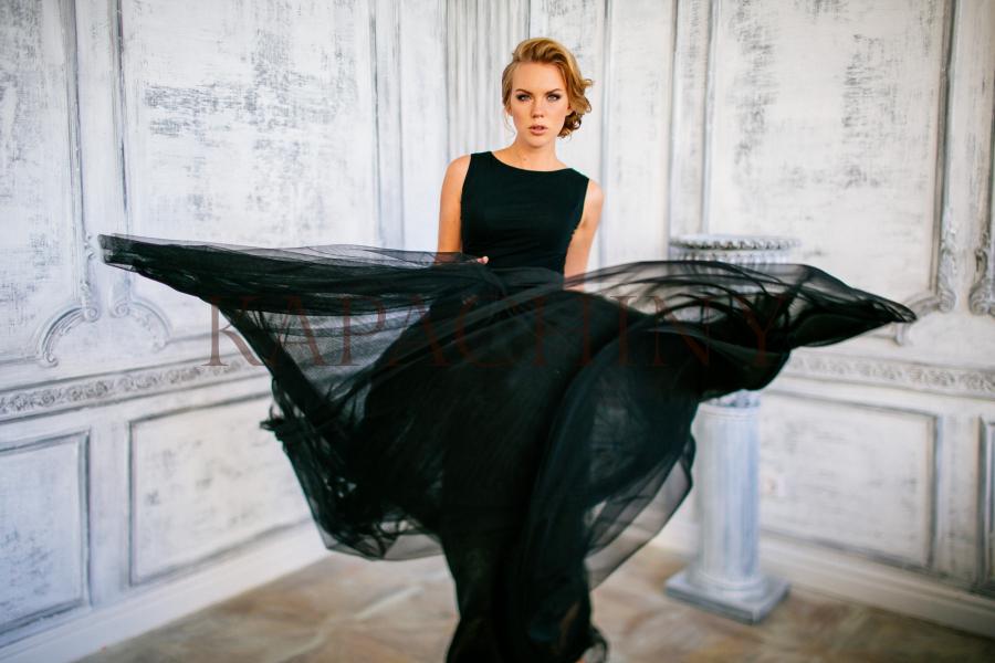 gabriel eveningdress kapachiny black dress