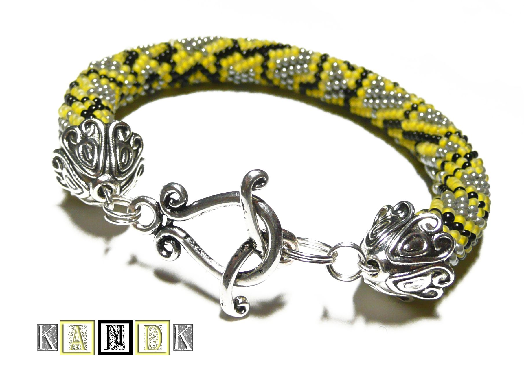 kandk beads bracelet python