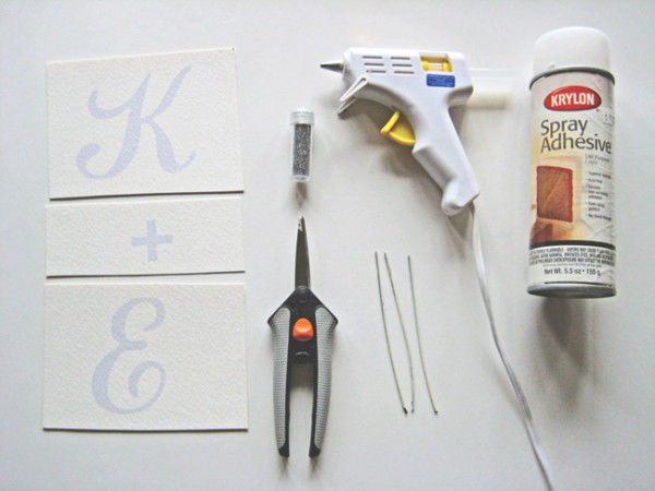 holiday toppers decor glue paper
