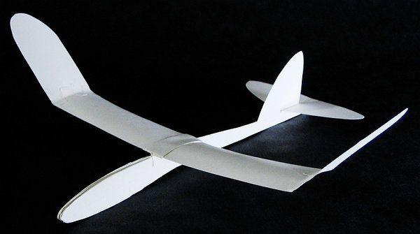 glider sailplane make paper crafts