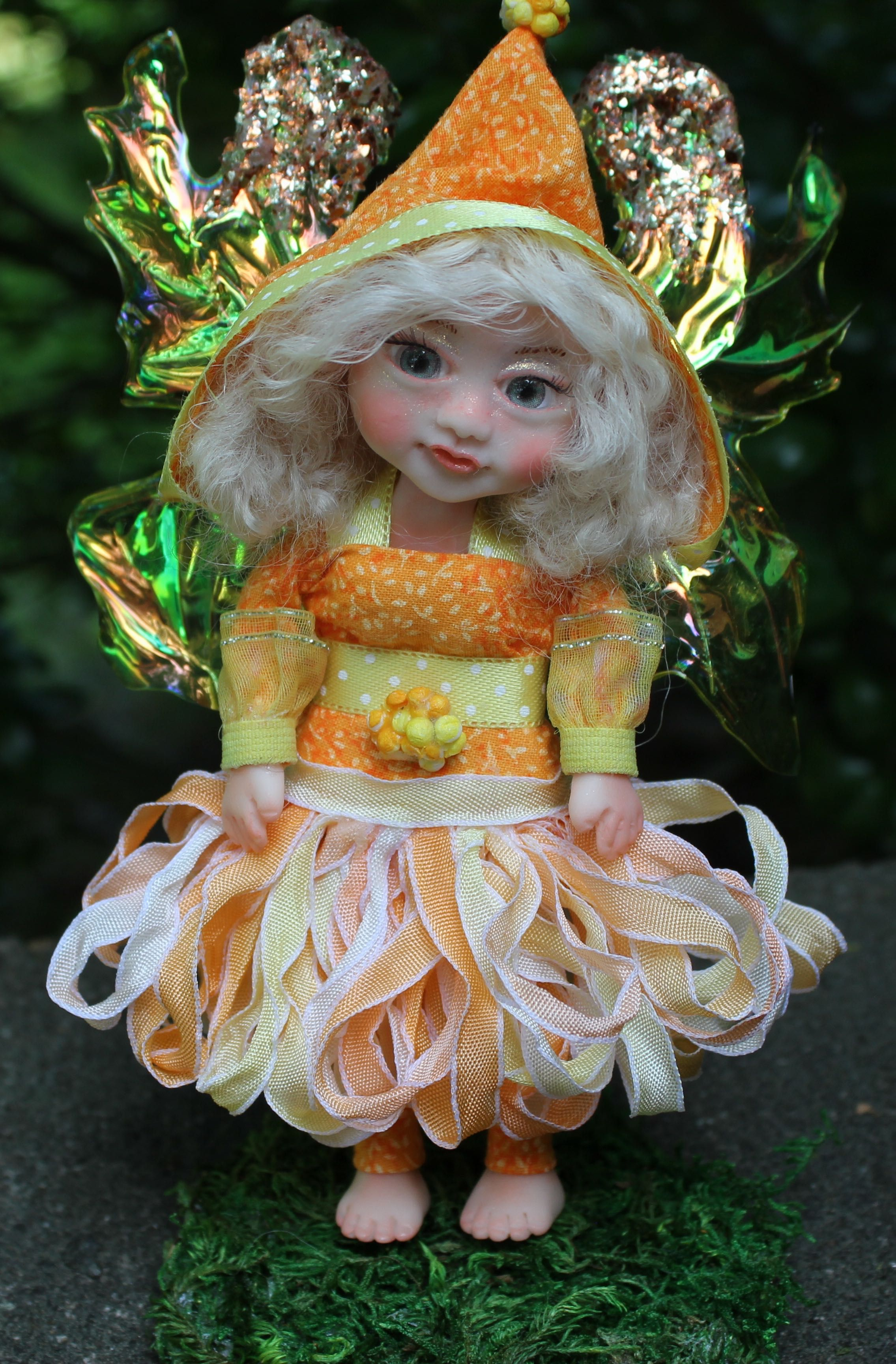 doll gift art clay polymer fairy fairies fantasy