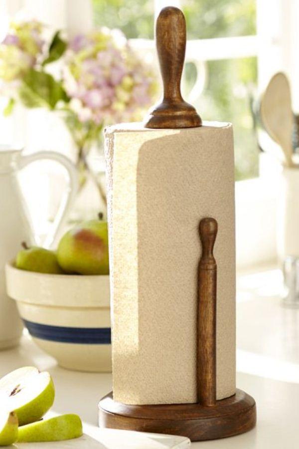 wooden towels handicrafts paper holder make