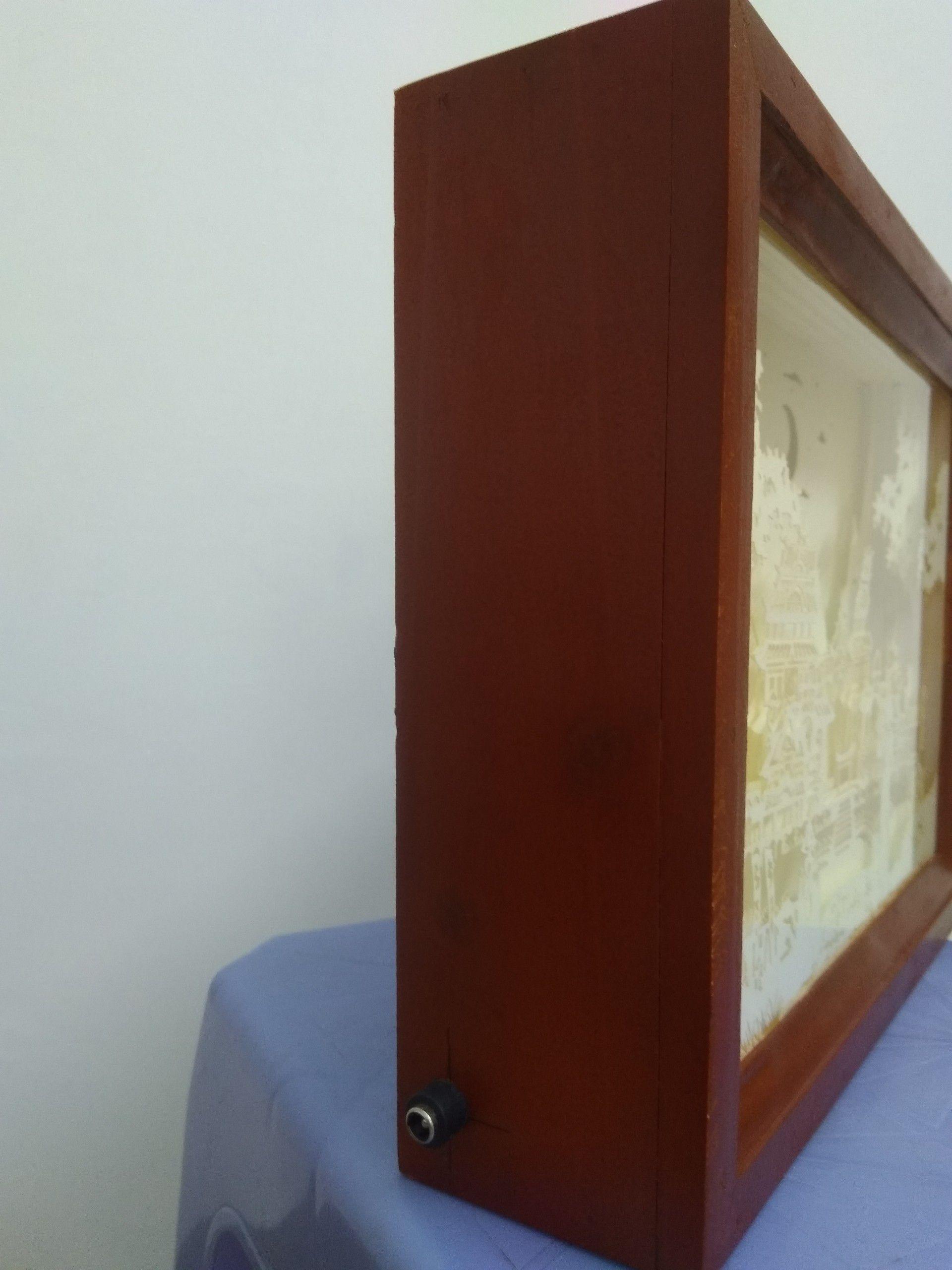 shadowbox woodtoy paperlightbox artbox kidbox