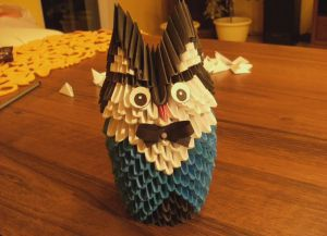 make origami paper owl crafts