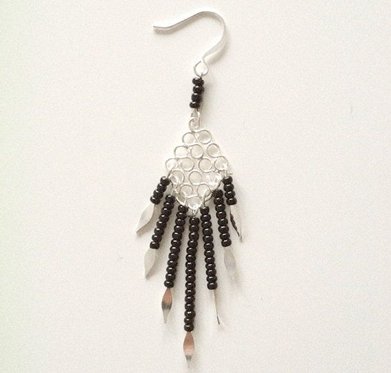 beaded costume earrings jewelry make