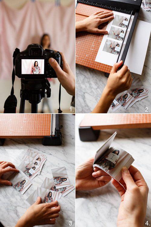 flipbook present unusual make photo