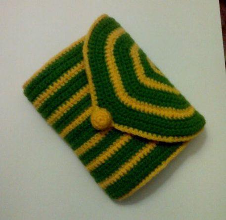 textile crochet hook case goods