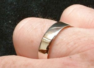 handmade make accessories coin ring