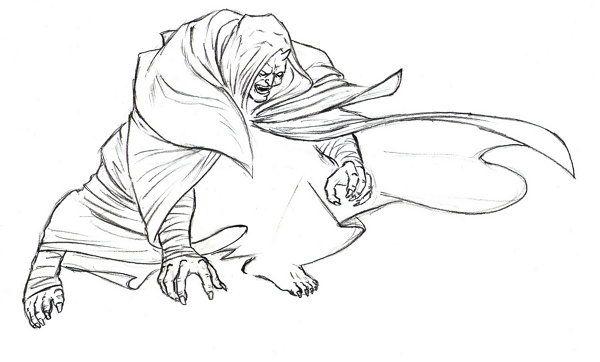 step goblin draw pencil art