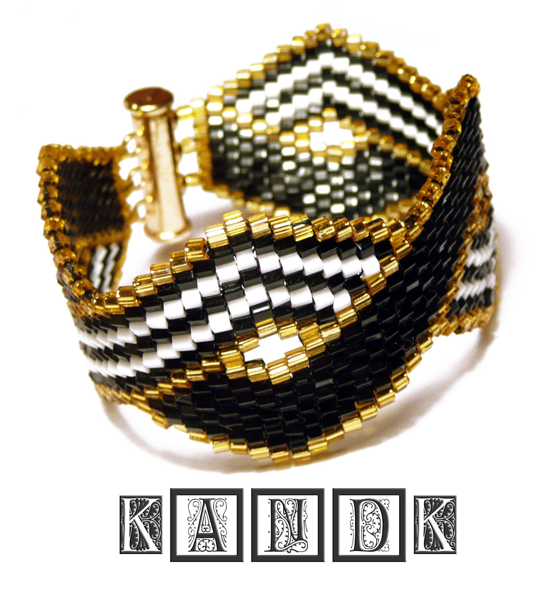 handmade kandk beads bracelet japanese