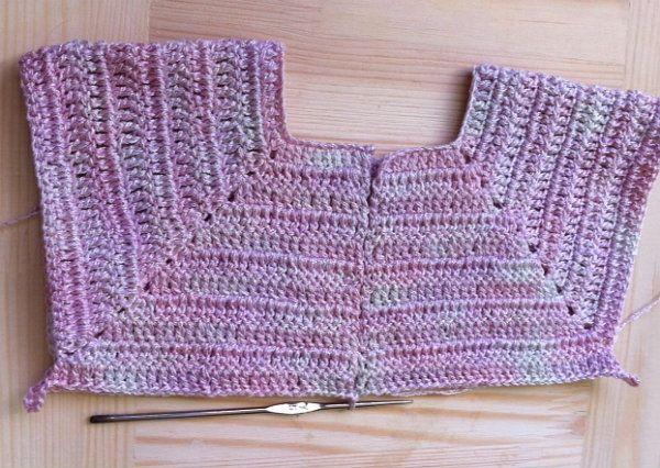 goods baby crochet textile dress
