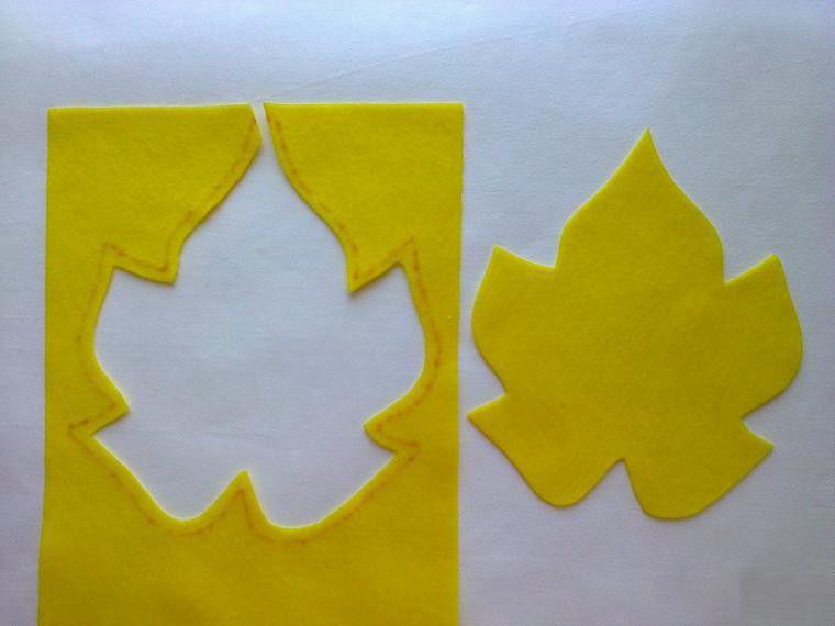 felt coasters sheet sewing cut