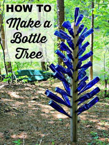 make tree bottle unusual decoration