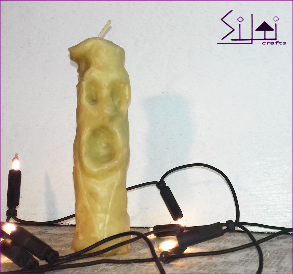 creepy screaming ghostcandle witchcraft gothiccandle macabrecandle creepycandle monstercandle organiccandle naturalcandle facecandle ghost witchcandle halloween singingcandle handcarved beeswaxcandle homedecor gothic