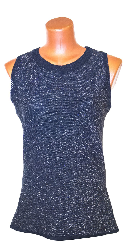 cotton black monochrome summer tunic knitted customdesign