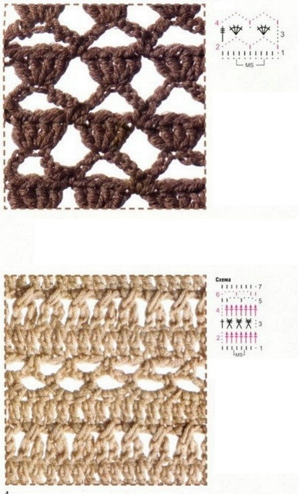 goods patterns crochet textile easy