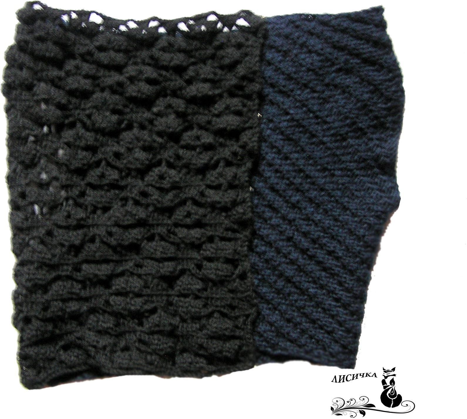 clothes wool winter vast knitting black
