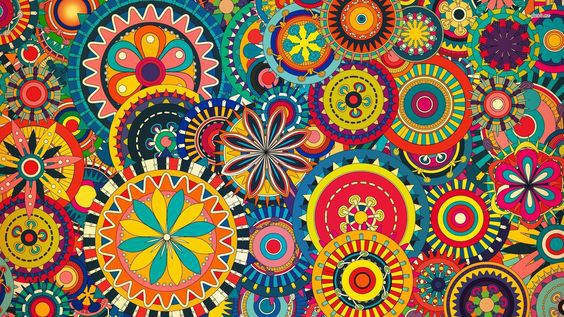beautiful painting color drawing pattern art arttherapy therapy coloring relax stress