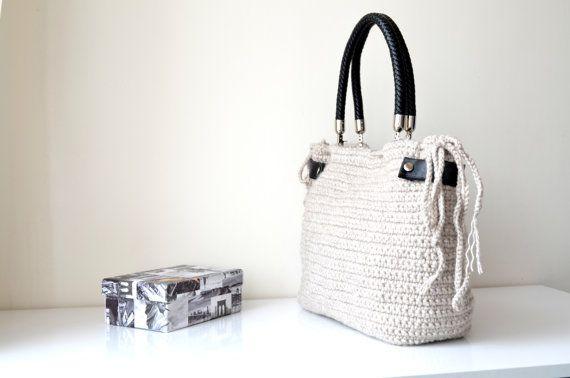 handmadebag bag day valentines celebrity teacher handbags gift knitbag crochetbag crochet knit bags handbag valentine women knitted