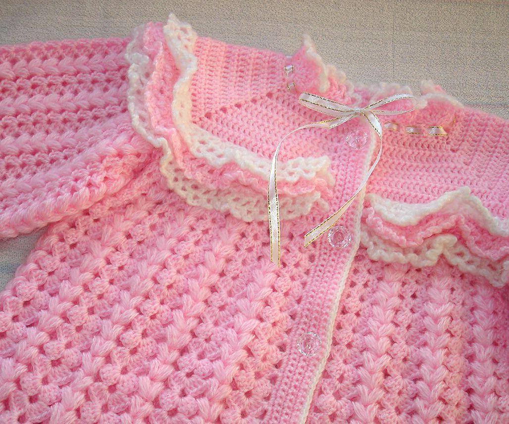 girl children cardigan baby pink cloud