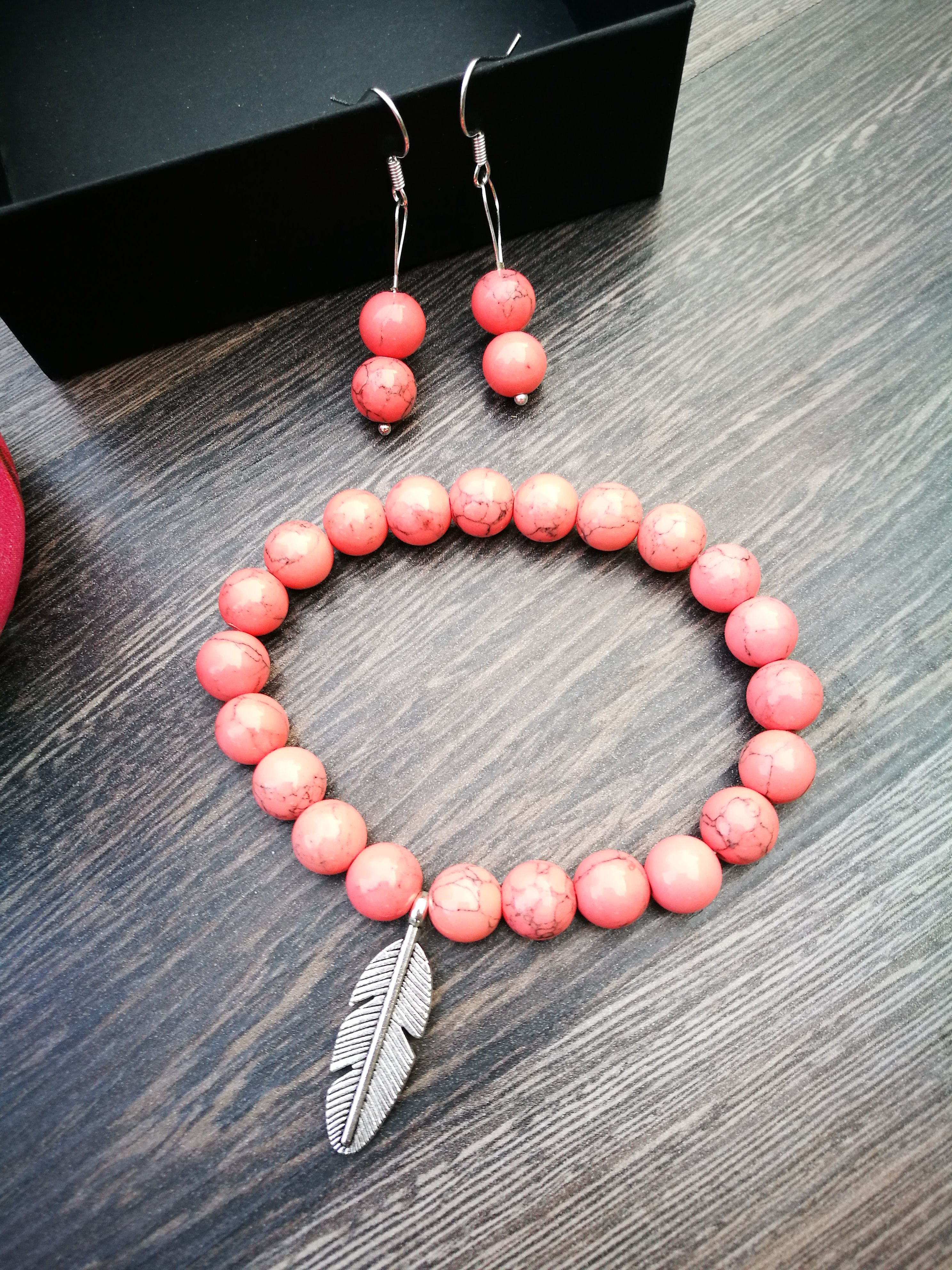 set bracelet jewelry gemstone rodonith