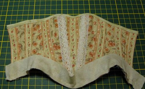 tailoring corset make fabric clothing