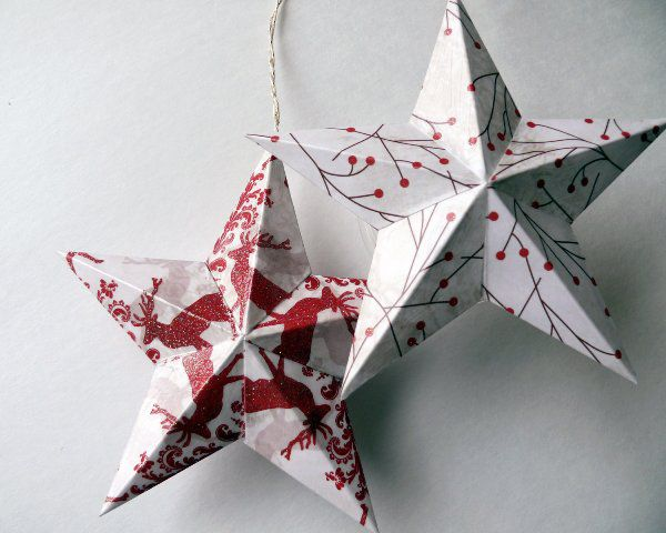 crafts surround stars paper make